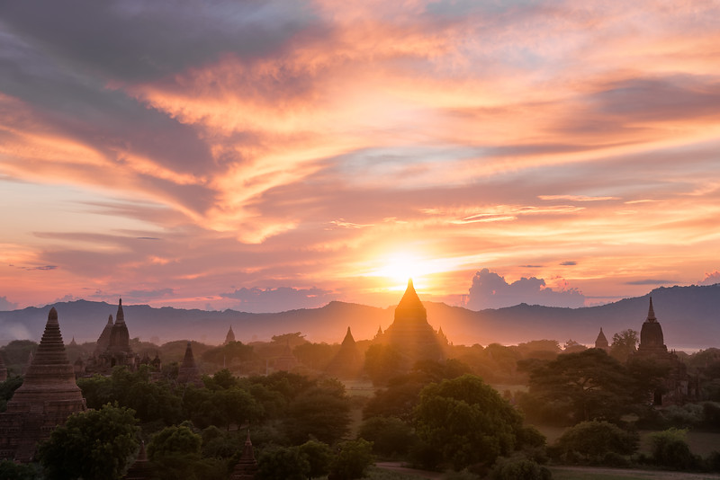 """Bagan Sunset"""